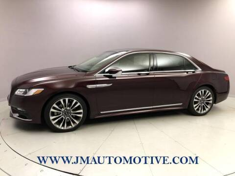 2017 Lincoln Continental for sale at J & M Automotive in Naugatuck CT