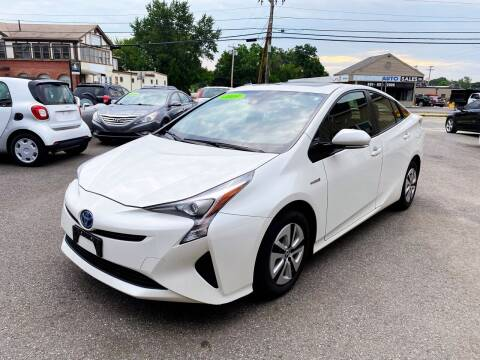 2016 Toyota Prius for sale at Dijie Auto Sale and Service Co. in Johnston RI