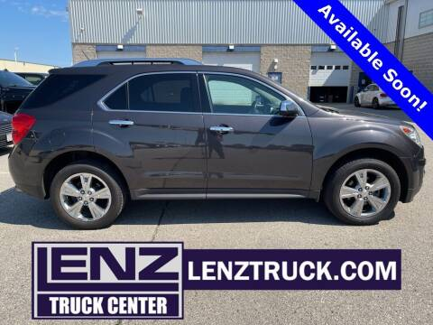 2015 Chevrolet Equinox for sale at LENZ TRUCK CENTER in Fond Du Lac WI