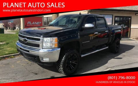 2012 Chevrolet Silverado 1500 for sale at PLANET AUTO SALES in Lindon UT