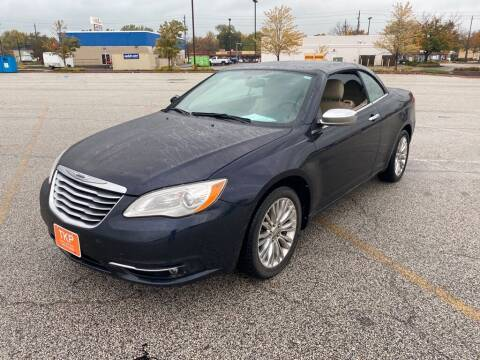 2011 Chrysler 200 Convertible for sale at TKP Auto Sales in Eastlake OH