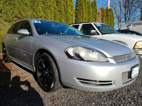 2013 Chevrolet Impala for sale at Universal Auto Sales in Salem OR