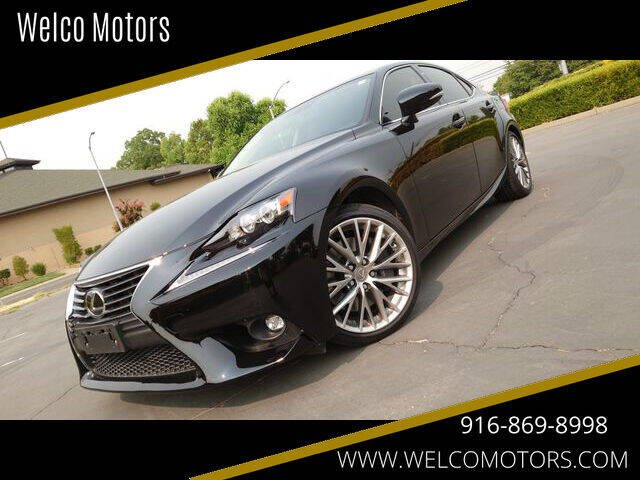 2016 Lexus IS 300 for sale at Welco Motors in Rancho Cordova CA