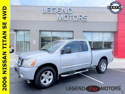 2006 Nissan Titan for sale at Legend Motors of Waterford in Waterford MI