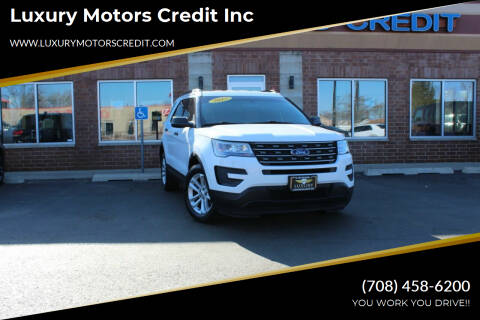 2017 Ford Explorer for sale at Luxury Motors Credit Inc in Bridgeview IL