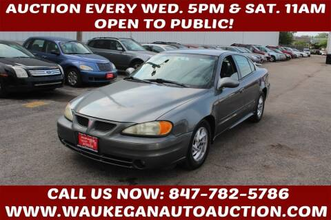 2004 Pontiac Grand Am for sale at Waukegan Auto Auction in Waukegan IL