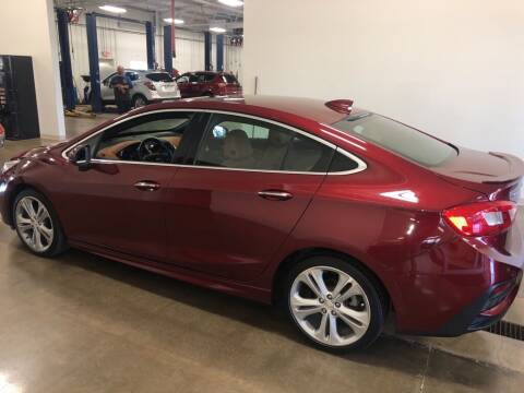 2016 Chevrolet Cruze for sale at Kerns Ford Lincoln in Celina OH
