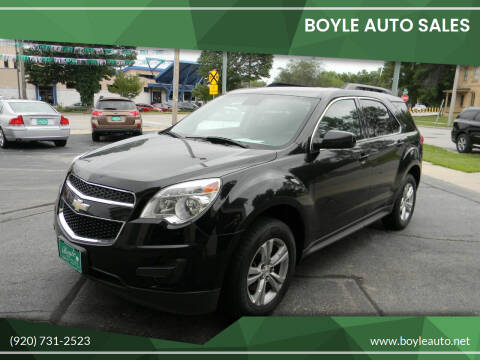 2013 Chevrolet Equinox for sale at Boyle Auto Sales in Appleton WI