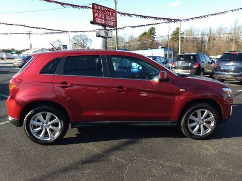 2015 Mitsubishi Outlander Sport for sale at Kenny's Auto Sales Inc. in Lowell NC