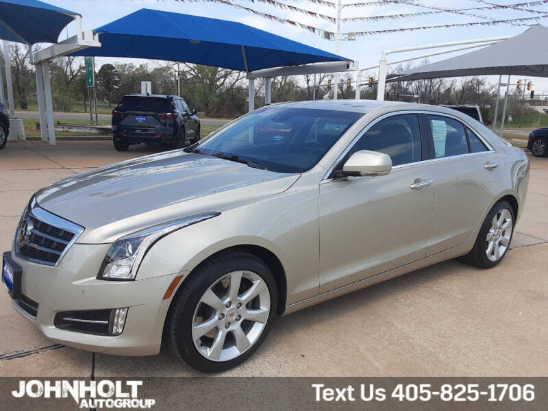 2014 Cadillac ATS for sale at JOHN HOLT AUTO GROUP, INC. in Chickasha OK