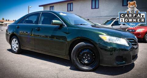 2010 Toyota Camry for sale at Rahimi Automotive Group in Yuma AZ