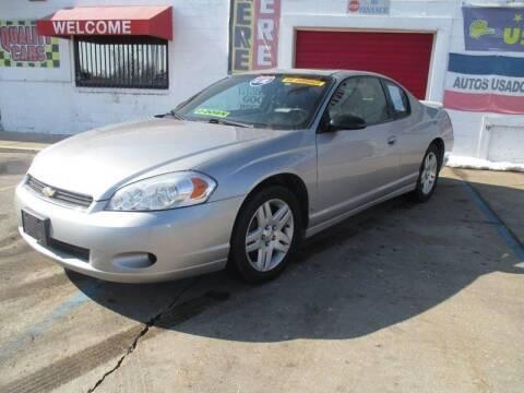 2007 Chevrolet Monte Carlo for sale at Summit Auto Sales Inc in Pontiac MI