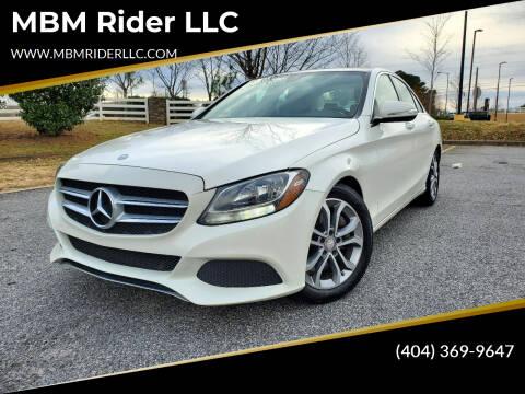 2015 Mercedes-Benz C-Class for sale at MBM Rider LLC in Alpharetta GA