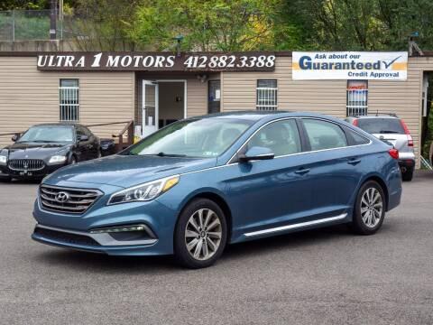2017 Hyundai Sonata for sale at Ultra 1 Motors in Pittsburgh PA