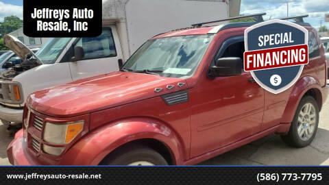 2008 Dodge Nitro for sale at Jeffreys Auto Resale, Inc in Clinton Township MI