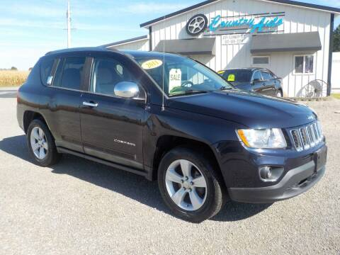 2011 Jeep Compass for sale at Country Auto in Huntsville OH