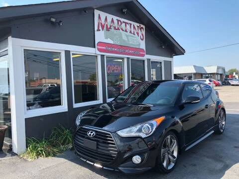 2013 Hyundai Veloster Turbo for sale at Martins Auto Sales in Shelbyville KY