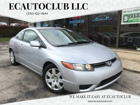 2008 Honda Civic for sale at ECAUTOCLUB LLC in Kent OH