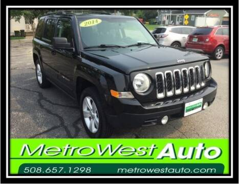 2014 Jeep Patriot for sale at Metro West Auto in Bellingham MA