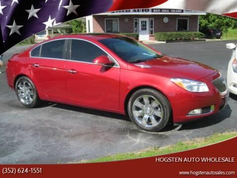 2013 Buick Regal for sale at HOGSTEN AUTO WHOLESALE in Ocala FL