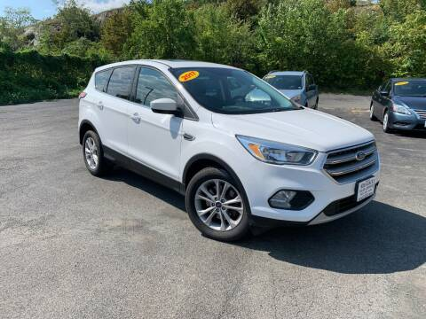 2017 Ford Escape for sale at Bob Karl's Sales & Service in Troy NY