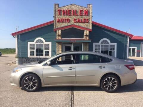 2017 Toyota Avalon for sale at THEILEN AUTO SALES in Clear Lake IA