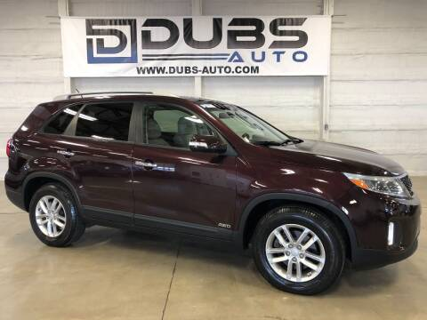 2015 Kia Sorento for sale at DUBS AUTO LLC in Clearfield UT