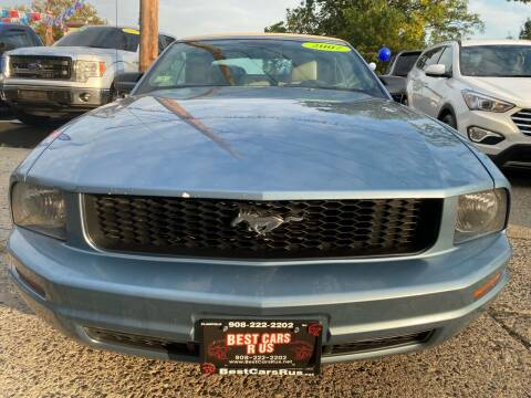 2007 Ford Mustang for sale at Best Cars R Us in Plainfield NJ