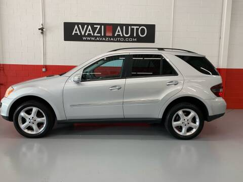 2008 Mercedes-Benz M-Class for sale at AVAZI AUTO GROUP LLC in Gaithersburg MD