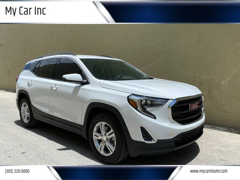 2018 GMC Terrain for sale at My Car Inc in Pls. Call 305-220-0000 FL