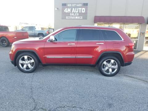 2011 Jeep Grand Cherokee for sale at 4M Auto Sales | 828-327-6688 | 4Mautos.com in Hickory NC