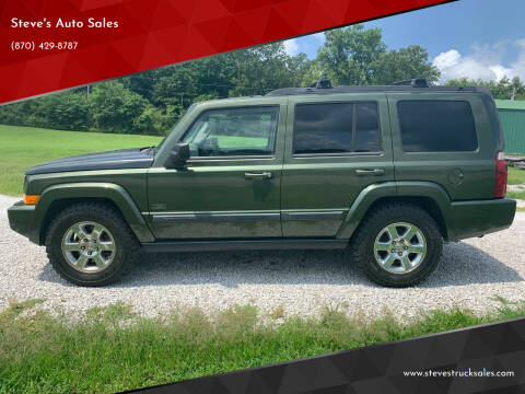 2007 Jeep Commander for sale at Steve's Auto Sales in Harrison AR