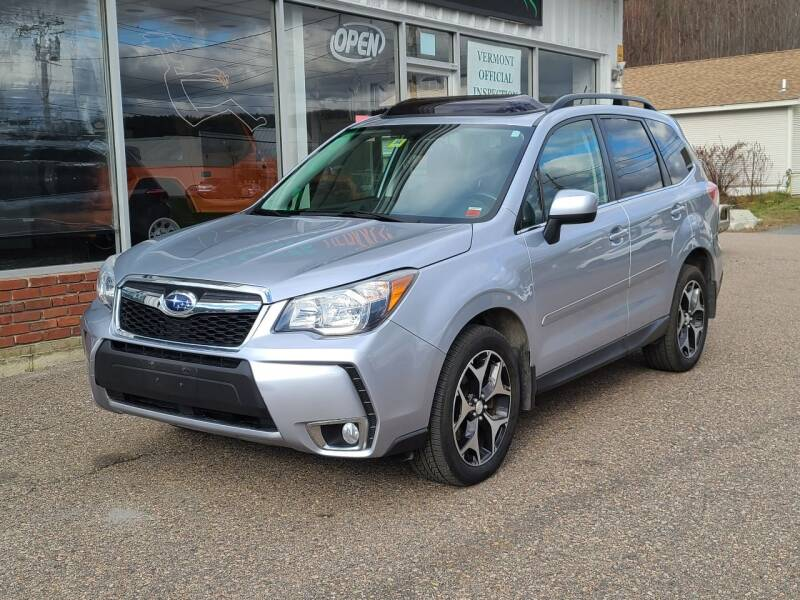 2015 Subaru Forester for sale at Green Cars Vermont in Montpelier VT