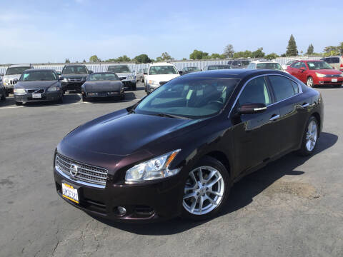 2010 Nissan Maxima for sale at My Three Sons Auto Sales in Sacramento CA