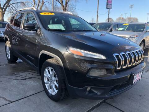 2014 Jeep Cherokee for sale at Direct Auto Sales in Milwaukee WI