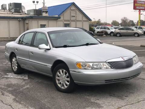 2000 Lincoln Continental for sale at Speedy Auto Sales in Indianapolis IN