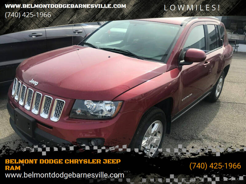 2016 Jeep Compass for sale at BELMONT DODGE CHRYSLER JEEP RAM in Barnesville OH