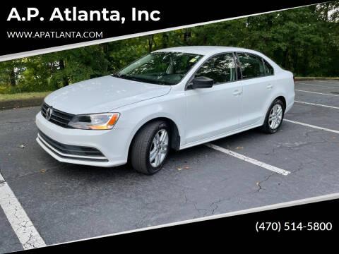 2015 Volkswagen Jetta for sale at A.P. Atlanta, Inc in Sandy Springs GA