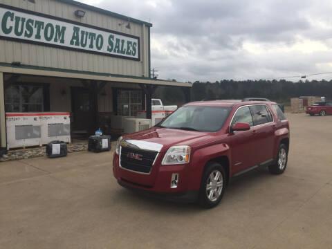 2014 GMC Terrain for sale at Custom Auto Sales - AUTOS in Longview TX