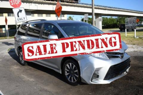 2020 Toyota Sienna for sale at ELITE MOTOR CARS OF MIAMI in Miami FL