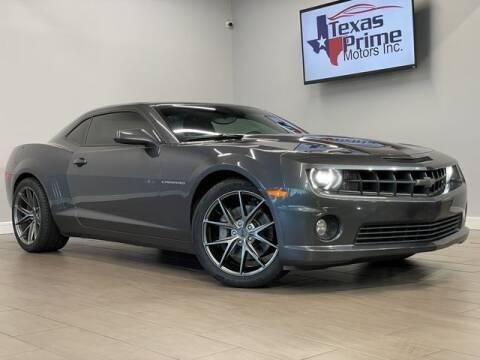 2010 Chevrolet Camaro for sale at Texas Prime Motors in Houston TX