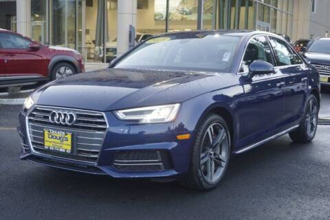 2018 Audi A4 for sale at Jeremy Sells Hyundai in Edmunds WA