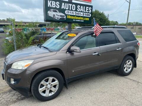 2008 Saturn Outlook for sale at KBS Auto Sales in Cincinnati OH