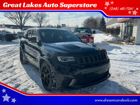 2018 Jeep Grand Cherokee for sale at Great Lakes Auto Superstore in Pontiac MI