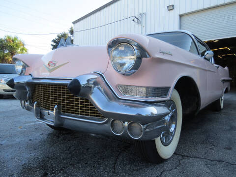 1957 Cadillac DeVille for sale at Copcarsonline in Largo FL