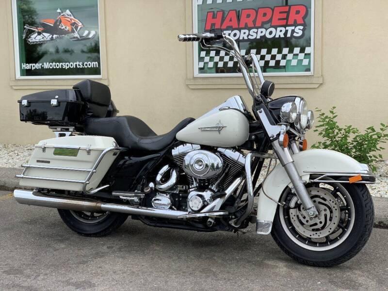 2000 Harley-Davidson Road King Police for sale at Harper Motorsports in Post Falls ID