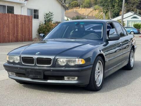 2001 BMW 7 Series for sale at JENIN MOTORS in Hayward CA