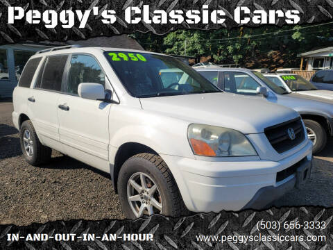 2003 Honda Pilot for sale at Peggy's Classic Cars in Oregon City OR