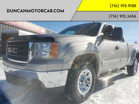 2008 GMC Sierra 1500 for sale at DuncanMotorcar.com in Buffalo NY