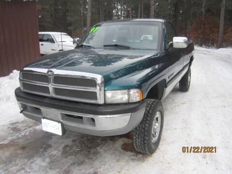1997 Dodge Ram Pickup 2500 for sale at SUNNYBROOK USED CARS in Menahga MN